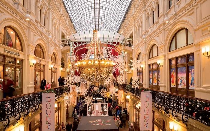 Trung tâm thương mại ở Nga