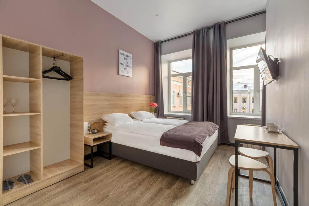Phòng tại khách sạn nomera na Goncharnoy