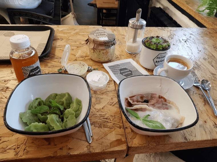 nhà hàng giá rẻ ở Moscow