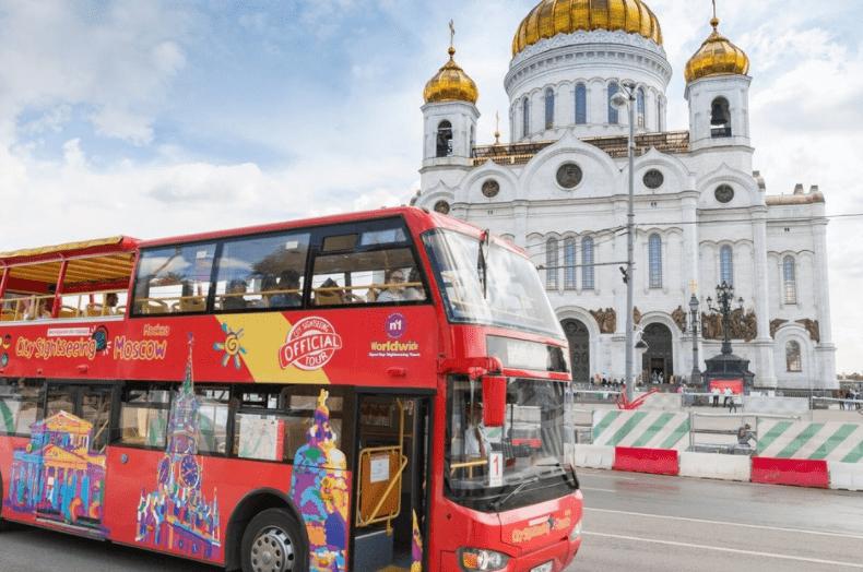 Xe buýt du lịch ở Nga