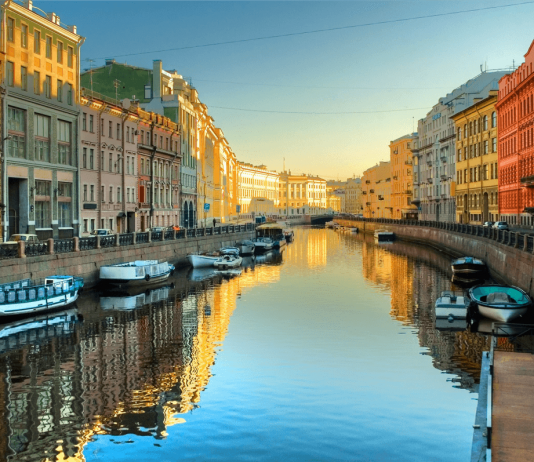 cảnh đẹp ở Saint Petersburg