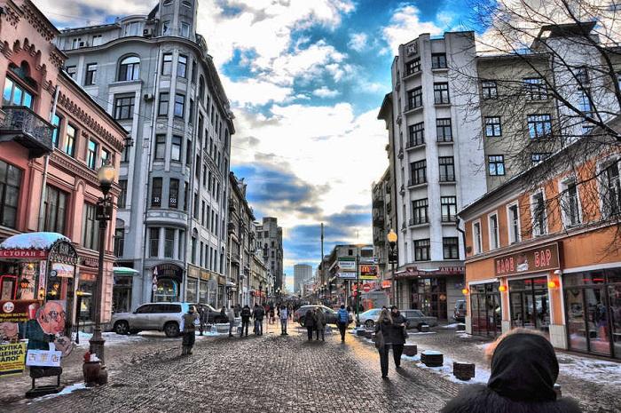 cảnh đẹp ở Moscow