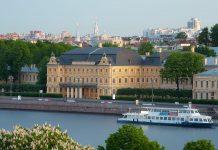 cung điện nổi tiếng ở Nga