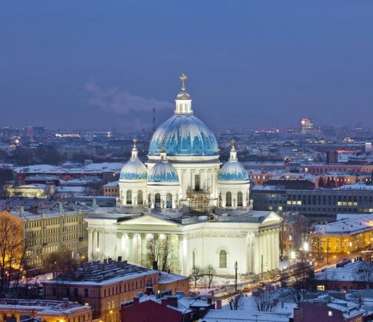 điểm check in ở Saint Petersburg