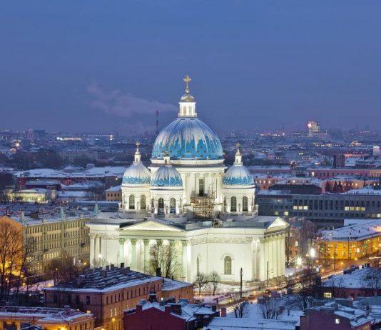 điểm check in ở Saint Petersburg