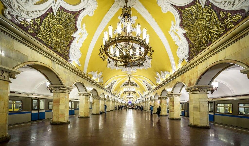 địa điểm check in hot nhất moscow