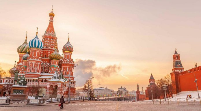 Điểm tham quan ở Moscow