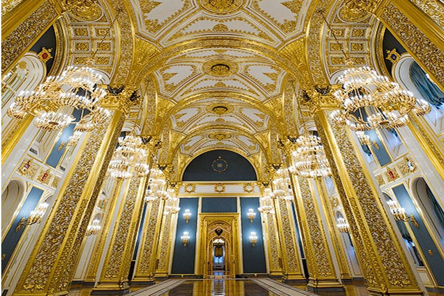 kiến trúc cung điện kremlin