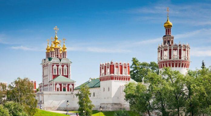 Nhà thờ ở Moscow Nga
