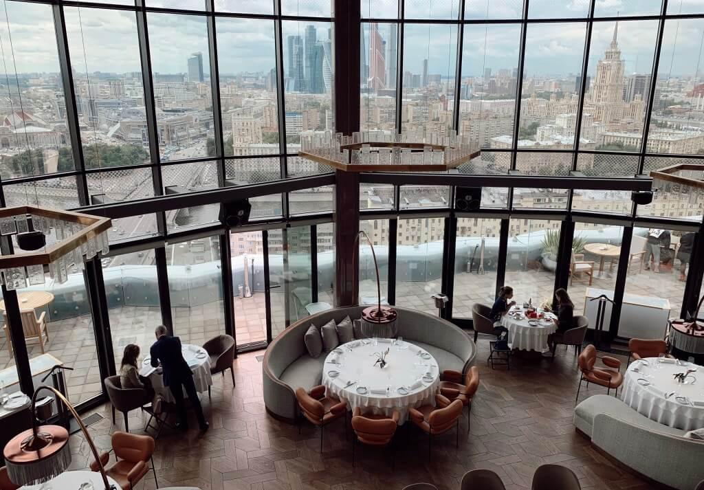 nhà hàng cao cấp ở moscow