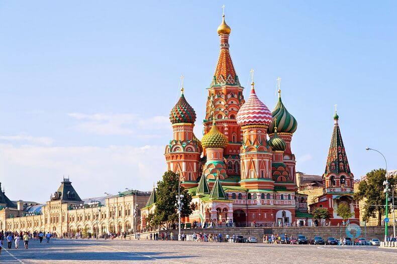 Nhà thờ ở Moscow