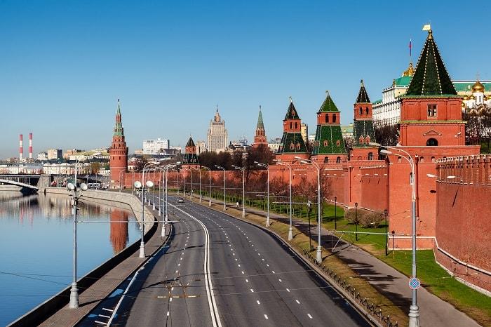 điện kremlin được bảo vệ như thế nào